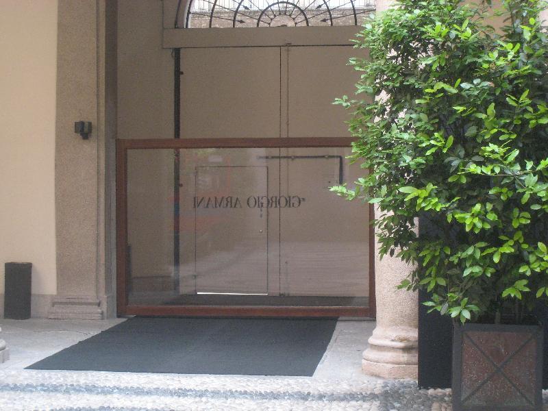 Milano maison Giorgio Armani