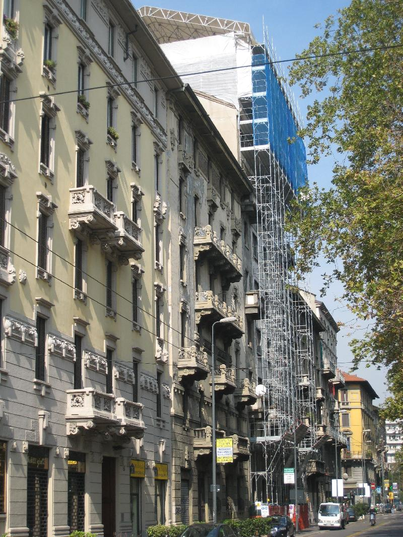 Milano viale Abruzzi