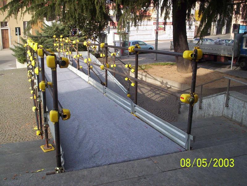 Gallarate passerella per disabili